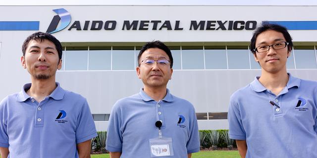 Installation of SIGNAL CHAIN at Daido Metal México SA de CV in Mexico Factory