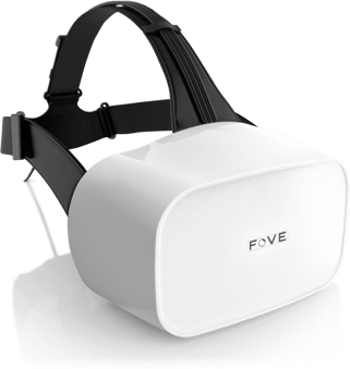 FOVE 0 EYE TRACKING HMD that brings virtual worlds
